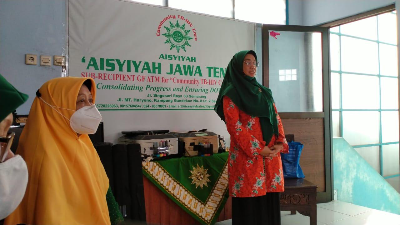 Serah Terima Aset dari SR TB ke PW Aisyiyah Jateng - 27Maret2021
