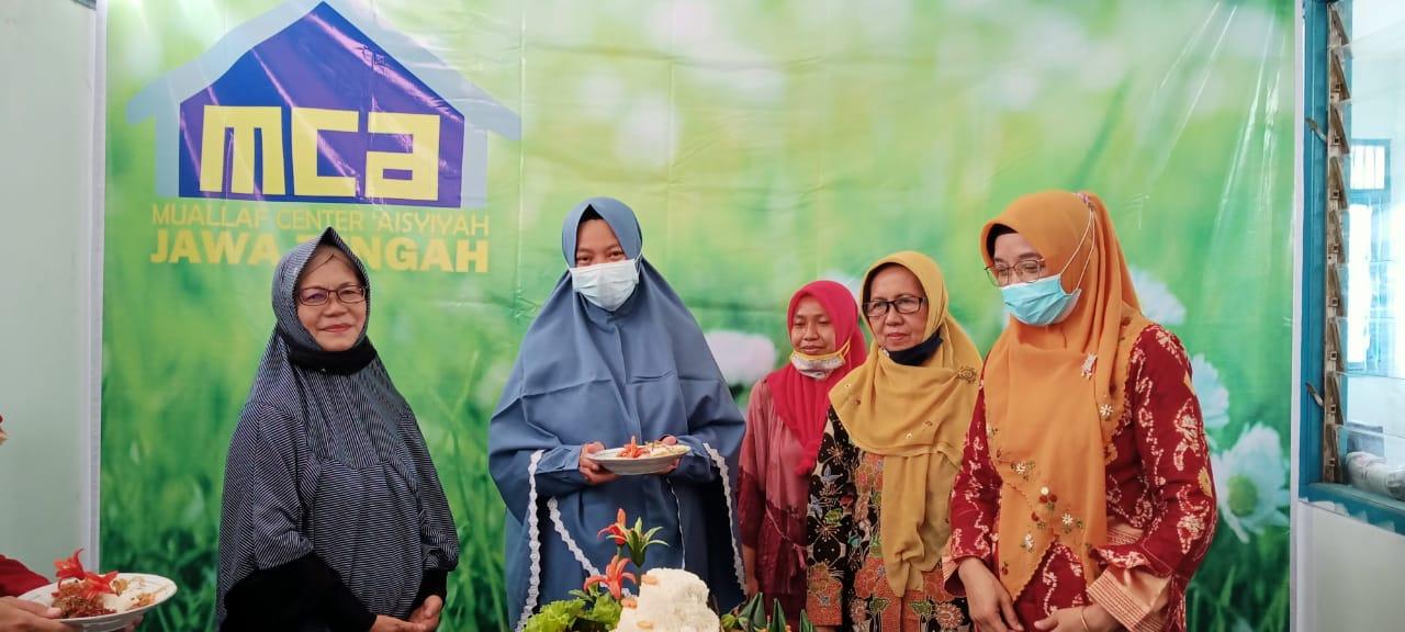 Peresmian Muallaf Center Aisyiyah (MCA)  Jateng 11 April 2021