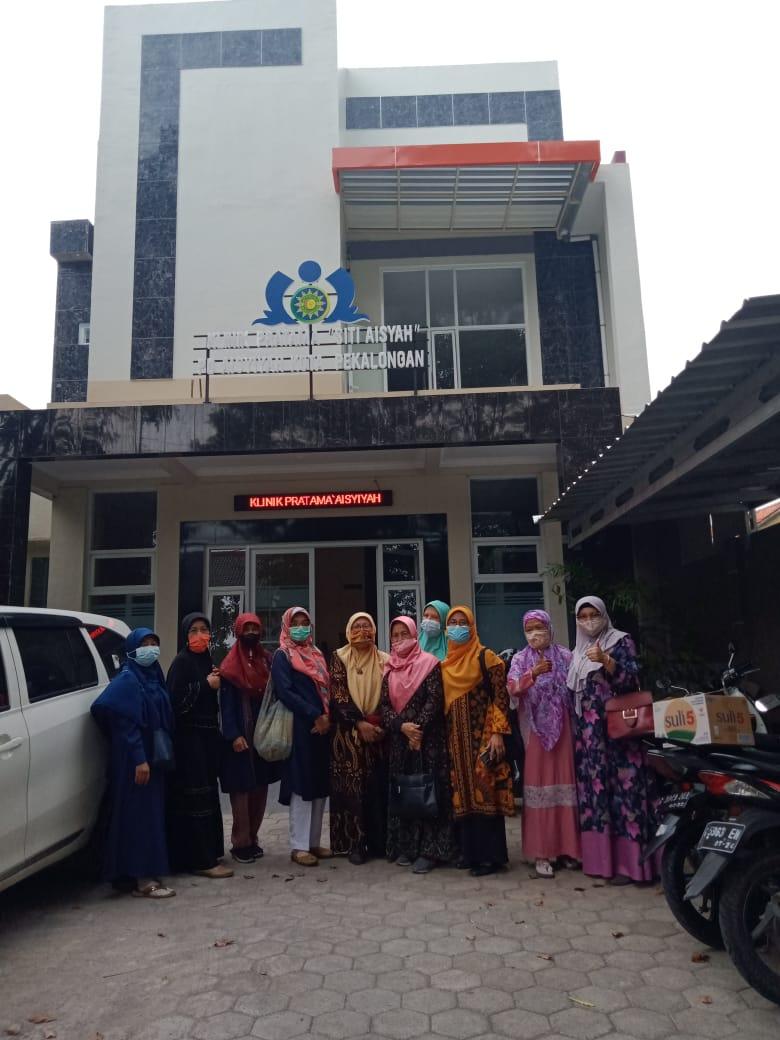 Kunjungan PWA Ke Klinik Pratama Aisyiyah Kota Pekalongan-29Mei2021