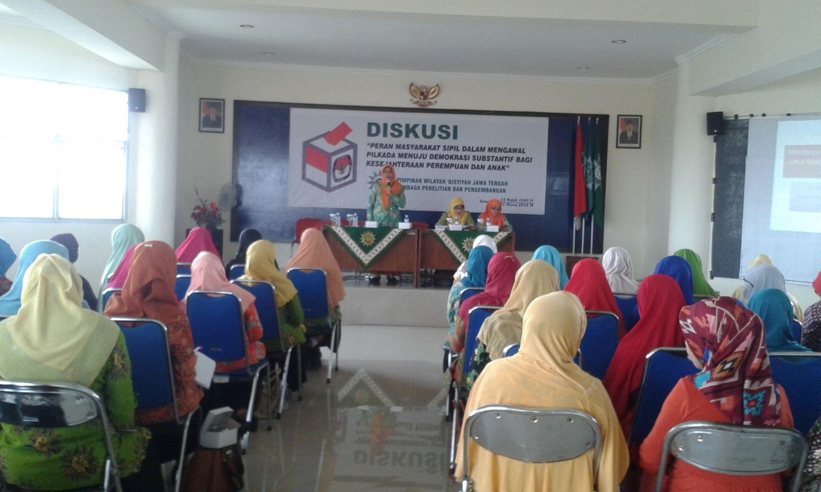 Diskusi Pendidikan Politik Untuk Perempuan